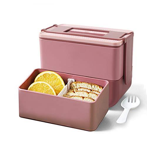 Anyingkai Bento Box,Auslaufsichere Brotzeitbox,Lunchbox Picknick,Brotbox Kinder,Essen Box Schule,Lunchbox mit Fächern,Lunchbox mit Fächern,Brotdose Kinder