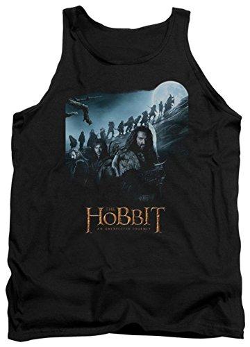 The Hobbit - - Un voyage Tank-Top pour hommes, Medium, Black