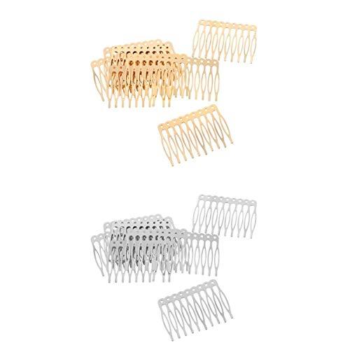 Fenteer Peigne à Cheveux Décoratifs (20pcs)