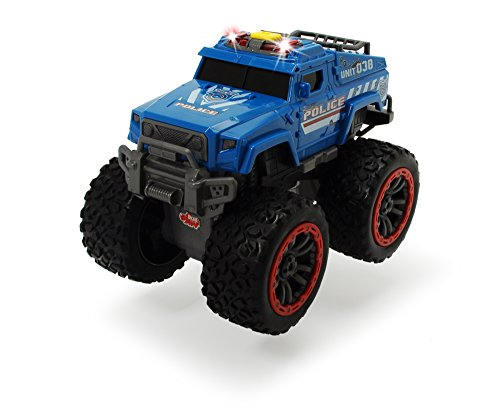 Dickie Toys - 203304001 - Camion Monstre - Police - Swat Unit