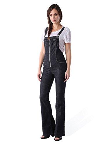 Diesel DE-Echo Tuta Damen Jeans Overall Latzhose (XXS, Dunkelblau)
