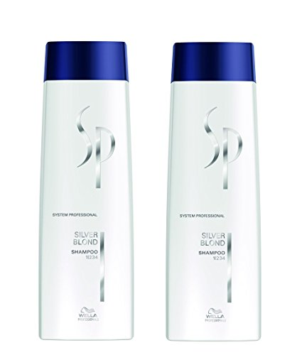 Wella 2x SP System Professional Care Expert Kit Silver Blond Shampoo 250 Ml