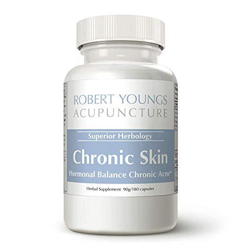 Chronic Acne Clear Skin Treatment 180 CAPS! Natural Herb Based Remedy & Medication Capsules | Best Effective Herbal Vitamin Complex & Organic Alternative Medicine Supplement Teen Men Women Boy Girl