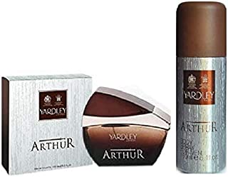 Set of Yardley Arthur Eau de Toilette 100ML and Yardley Arthur Body Spray 150ML - YD76333PRO