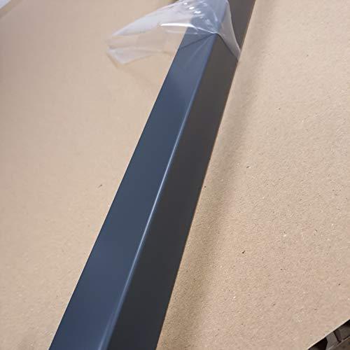Lot 5 Cornières d'angle RAL 7016 SAT - épaisseur 1 mm - Longueur 150 cm (2,5 cm x 3 cm)