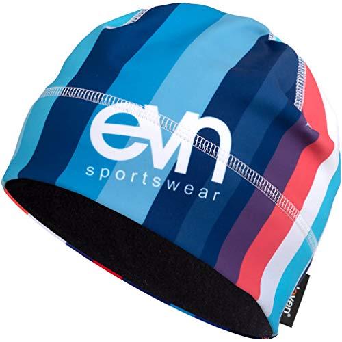 Mütze für Laufen, Radfahren, Wandern, aktiver Lebensstil und Skifahren | Männer, Frauen und Kinder | Eleven Matty (Code Red, M (54-57cm))