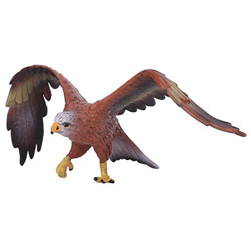 Juguete de Figura de Animal, Adornos de Modelo de águila de simulación Estatua de Criaturas de Vida Animal Juguetes educativos tempranos para niños Regalo para niños(Águila)