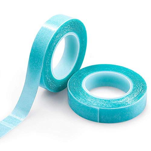 TINGZ 2 Rollen(6M) Haarverlängerung klebeband Hair tape Ersatz Tapes Ersatztapes für Tape In Hair Extensions,Hohe Klebekraft Haar Klebeband für Haarverlängerungen Haareinschlag