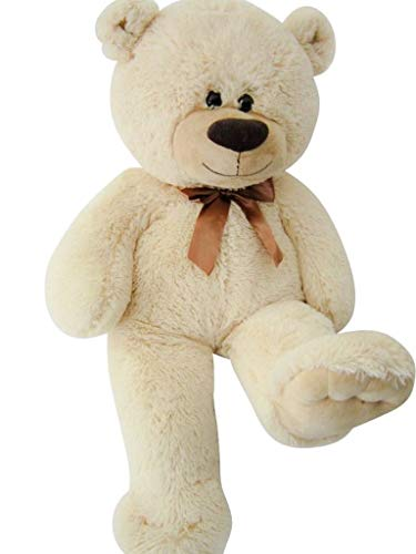 Sweety-Toys 4638 Teddybär Plüschbär 80 cm beige