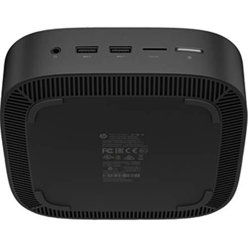 HP Chromebox G2 Chromebox - Celeron 3867U - 4 GB RAM - 32 GB SSD - Attractive Black - Chrome OS - Intel HD Graphics 610 - English Keyboard