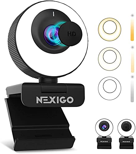 Webcam 4K 60Fps Autofocus Marca NexiGo