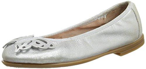 Unisa Mädchen SIMBO_MTS Geschlossene Ballerinas, Silber (Silver), 30 EU