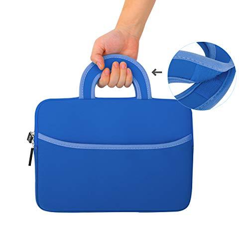 MoKo Universal 7-8 Zoll Tablet Tasche, Neoprene Handtasche Tragetasche Wallet Bag Kompatibel mit Fire 7 2019/2017, Fire HD 8 2016, Fire Kids Edition 7