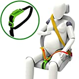 ZUWIT Ajustador de cinturón de seguridad para mujeres embar