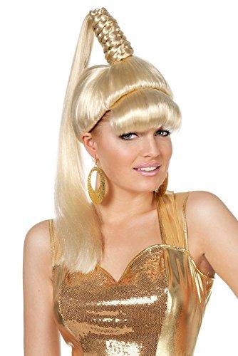 Wilbers Damen Perücke Zauberfee mit Pony zum Kostüm Karneval Fasching Party