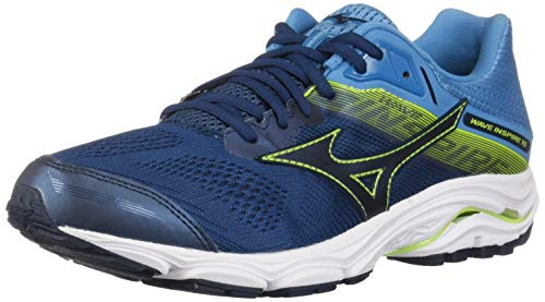 Mizuno Herren Wave Inspire 15 Running Shoe, Laufschuh, Blue Wing Teal-Dress Blau, 39.5 EU