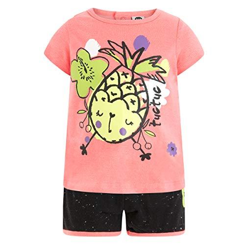 Tuc Tuc Camiseta+Short Punto NIÑA Fruit Festival Conjunto de Ropa,...
