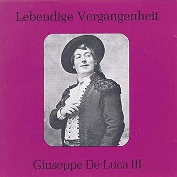 Lebendige Vergangenheit - Giuseppe De Luca (Vol.3)