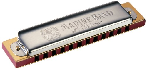 Hohner 364C Marine Band 364 Diatonic 12-Hole Harmonica - Key of C