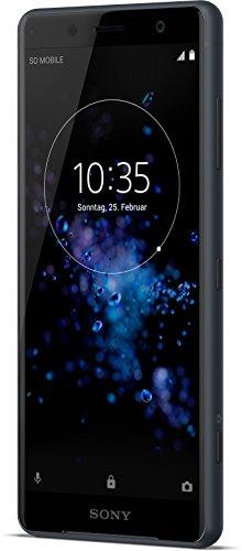 Sony Xperia XZ2 Compact Smartphone (12,7 cm (5,0 Zoll) IPS Full HD+ Bildschirm, 64 GB interner Speicher & 4 GB RAM, Dual-SIM, IP68, Android 8.0) schwarz - Deutsche Version