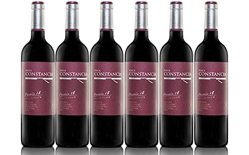 Finca Constancia Parcela 12 Graciano - Vino Tinto V.T. Castilla - 6 botellas de 750 ml - Total: 4500 ml