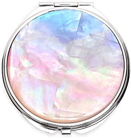 MADDesign Mother Award of Pearl Makeup Mirror Sid Max 69% OFF Purse Compact Double