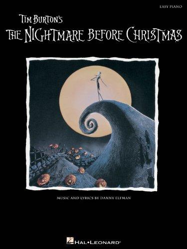 Danny Elfman: The Nightmare Before Christmas (Easy Piano). Für Klavier
