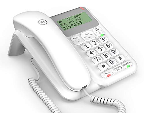 BT Decor Corded Telephone, White
