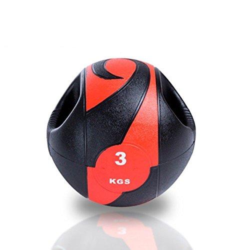 Balón medicinal con doble agarre
