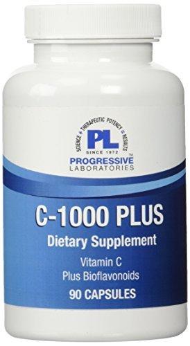 Progressive Labs C-1000 Plus Supplement, 90 Count by Progressive Labs