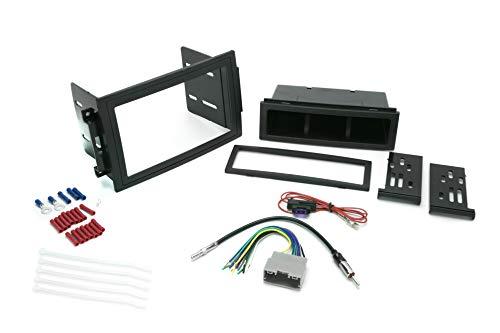 SCOSCHE Installieren Sie Centric ICCR5BN Kompatibel mit Select Chrysler/Dodge/Jeep 2005-07 mit Navigation Komplette Basis-Installationslösung für die Installation eines Aftermarket-Stereos