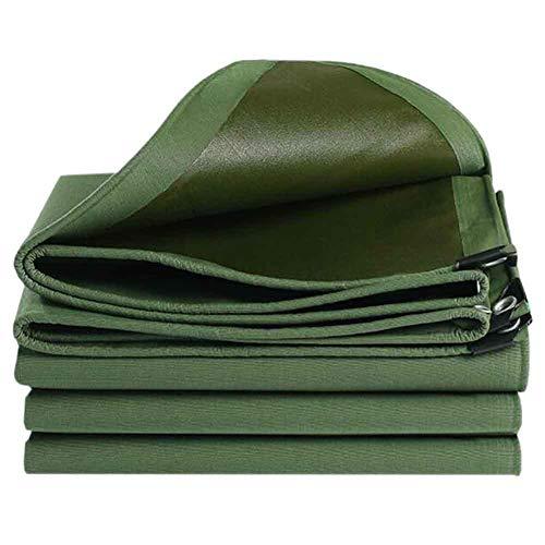YCSD Lona Verde Material Grueso Resistente 8,6 Mm Resistente Al Agua, Muy Adecuado para Carpa De Lona, Barco O Cubierta De Piscina(Size:2x3m)