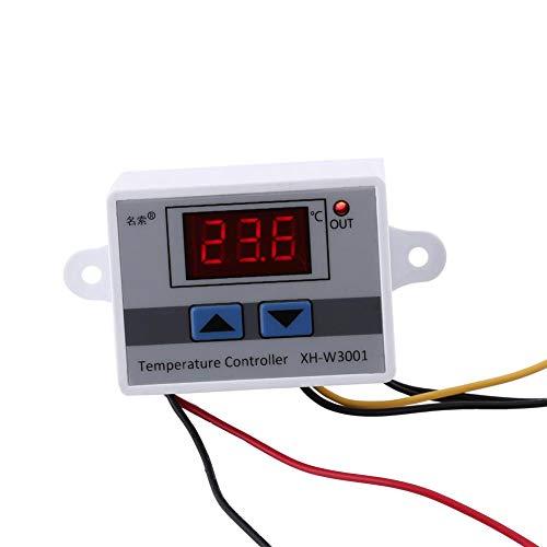 Keenso Digitaler Temperaturregler Thermostat Controller Schalter Fahrenheit Digitale Heizungs- / Kühlungs-Temperaturregelung mit Sonde