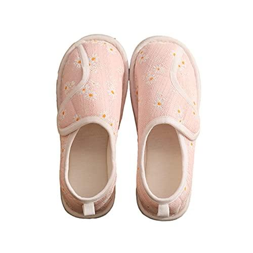 [エレクトリックサーカス] 介護 スリッパ ルーム シューズ リハビリ ウォーキング 室内履き スリッポン レディース 高齢者 靴 (ピンク) 洗える かっこいい かわいい おしゃれ プレゼント 人気 婦人 大人 女性 柄 用 足 サンダル スニーカー く