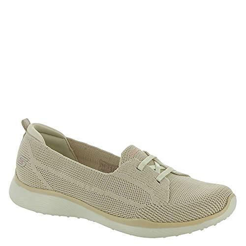 Skechers Women's Microburst 2.0 Sneaker, NAT=Natural, 8