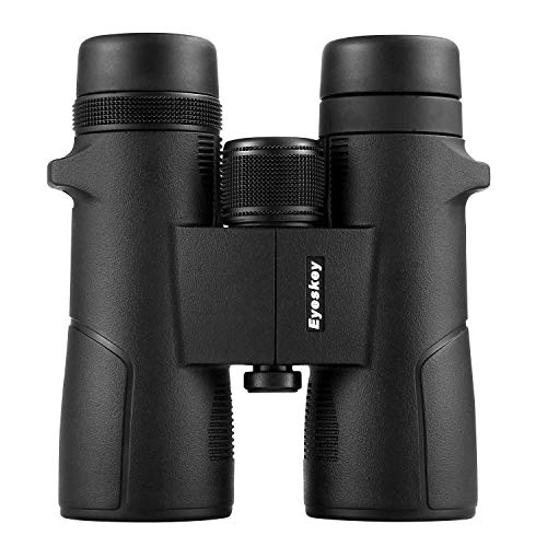 Eyeskey 10x42 Binoculars for Adults with Durable Magnisum Alloy Housing, HD BaK-4, Large Eyepiece, Ideal Choices for Wildlife Viewing, Outdoor Travelling, Hiking