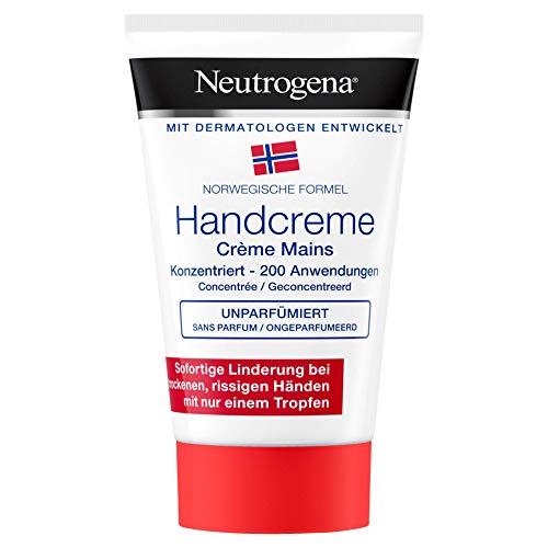 Neutrogena Handcreme Konzentriert, unparfümiert, 200 Anwendungen, 50 ml