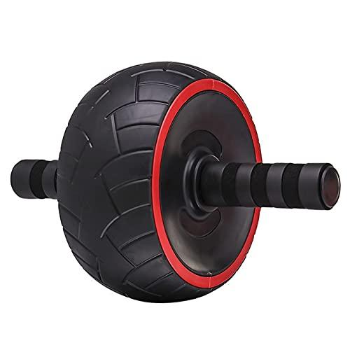 CZYNB Rueda abdominal del entrenamiento abdominal del músculo de la rueda del gimnasio del silencio del vientre de la rueda AB rodillo