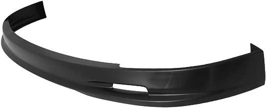 Front Bumper Lip Compatible With 2001-2003 Honda Civic 2 & 4 Dr Coupe & Sedan | PP Black IKON MOTORSPORTS