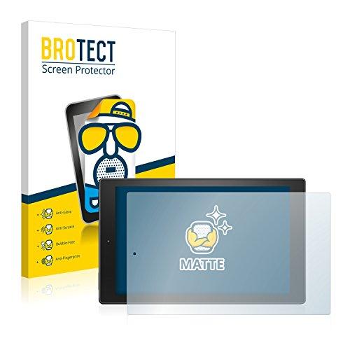 BROTECT 2X Entspiegelungs-Schutzfolie kompatibel mit Amazon Fire HD 10 (2015) Displayschutz-Folie Matt, Anti-Reflex, Anti-Fingerprint