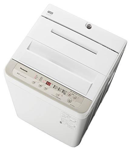 パナソニック 全自動洗濯機 洗濯 5kg つけおきコース搭載 シャンパン NA-F50B13-N