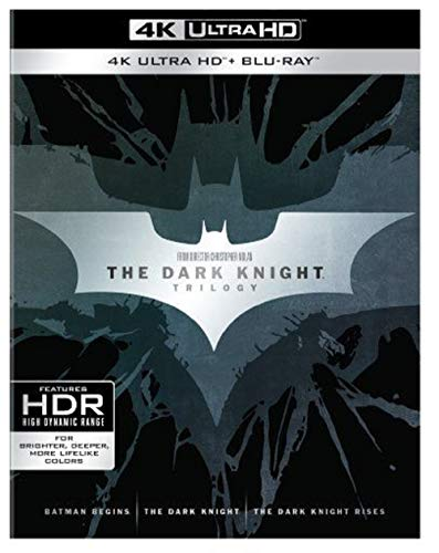 The Dark Knight Trilogy [Blu-ray]