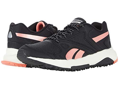 Reebok womens Lavante Terrain Running Shoe, Core Black/Ceramic Pink/Twisted Coral, 9 US