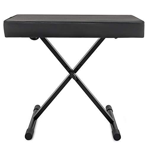 Knox Adjustable X Style Keyboard Bench