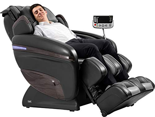 OSAKI OS-7200H Pinnacle FDA Zero Gravity Computer Body Scan 51 Air Bag Massage Hip Massage Auto Leg Scan Best Massage Chair (Black)