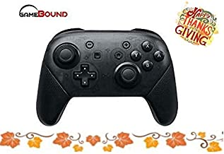 Wireless pro Game Controller for Nintendo Switch by Gamebound (Black)