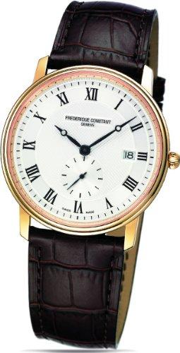 Frederique Constant Geneve Slimline FC-245M5S5 Elegante Herrenuhr Besonders Flach