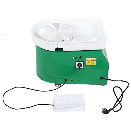 Oumefar Máquina eléctrica de cerámica con enchufe europeo, para uso doméstico y para la formación escolar