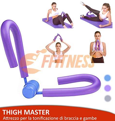 FFitness - Herramienta de gimnasia Thigh Master para entrenar las piernas y los brazos, ideal para entrenamiento en casa o en el muslo