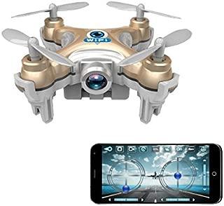 Generic Cheerson CX-10W CX10W Mini Wifi FPV With Camera 2.4G 4CH 6 Axis LED RC Quadcopter